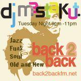 Jazz Funk Soul  Old and New: DJ Mastakut on Back2Backfm.net 2018/05/01