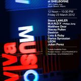 Deetron - Live @ WMC Viva Music Pool Party, Shelborne, Miami, E.U.A. (23.03.2012)