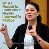 What I Needed to Learn About Ministry, I Learned in Pro Tips - Maloi Malibiran-Salumbides