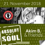Absolut Soul Show /// 21.11.18 on SOULPOWERfm