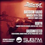 Bassism Radio on Sub.FM 28.03.18   Guestmixes by Robyn & Bassinfected