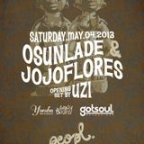 Osunlade & jojoflores Live at peopl May 2013