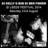 DJ Ben Fisher & DJ Kelly G b2b @ Leeds Festival - Oxjam Dance Tent - 23/8/14
