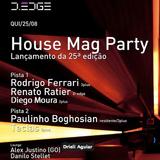 Rodrigo Ferrari, Live @ D-Edge, August 25th, 2011 Part 2.