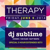 6.6.14 - Therapy - DJ sublime - part#1