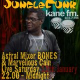 "Jungle Funk show - Guest Marvellous ""Yardrock"" Cain - On kane Fm 103.7FM - Sat 12th Jan 2013"