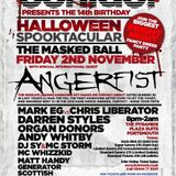 Mark EG vs Chris Liberator @ Contact presents The 14th Birthday (02.11.12)
