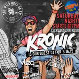 THE WILD ONES ON FM GUEST DJ KRONIC ON 96.9 KISS FM