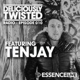 @DeliciouslyTwisted #BigRoom #HouseMusic #RadioShow #010 with #GuestDJ @TnJay10 on @EssenceFMLive