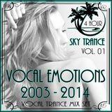 Sky Trance  Vocal Emotions Vol. 01 - 2003 - 2014 - Vocal Trance Mix