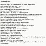 You&Me 2018/07