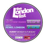 The London List Radio Show - Monday 18th March 2013