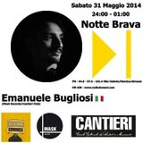 Emanuele Bugliosi @ NOTTE BRAVA PODCAST on air 31.05.2014