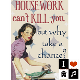 Saturday Morning Housework - Can't Kill You Edition, Recorded Live 27/04/2018