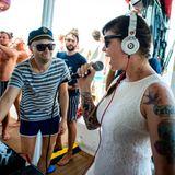 Miss Kittin b2b H.O.S.H. @ Cirque de la Nuit Ibiza - Five Star Catamaran 17-07-2014