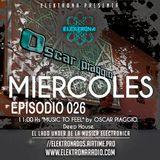 Ciclo Music To Feel Episodio 026 - Elektrona Radio Online