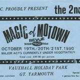 Magic of Motown weekender 1990 onsite radio - Steve Whittle, Butch, Dave Evison