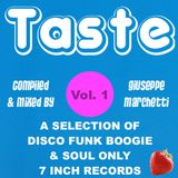 TASTE vol. 1 Compiled & mixed by Giuseppe Marchetti
