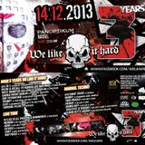 Zary @ 3 Years We Like It Hard - Panoptikum Kassel - 14.12.2013