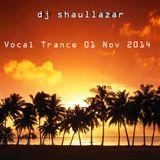 Vocal Trance 01 Nov 2014