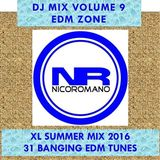 Nico Romano Dj Mix Volume 9 EDM Zone - Summer 2016