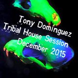 Tony Dominguez - Tribal House Session (December 2015)