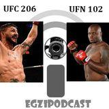 Egzipodcast- Alkopodcast UFC206 & UFN102