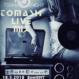 18.05.2018 TECHNO NIGHT tOMASH Live MiX NV RADIO