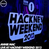 Annie Mac – Live at Hackney Weekend – 24/06/2012