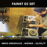 FAINST (Les Ziris) Dj Set @ Radio Grenouille - MIDIMIX - 22.03.17