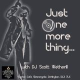 Just One More Thing (Scott Wetherill DJ Set @ Voodoo Cafe, Darlington, 7th Dec 2018)
