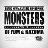 Monsters Vol.17 DJ FUM & KAZUMA