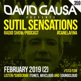 Sutil Sensations Radio #359 - 2nd episode of 2019, #HotBeats & #CanelaFina for your demanding ears!