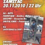 Feenstaub (Distillery, Leipzig) @ Kosmonautentanz 20.11.10