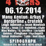 Butze @ 4 Years Tekk Freakz - Spirograph Berlin