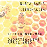 Nuria Baena (Geminalism) Electronic Mix - Playlist live April 2015