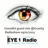 Gvozdini guest mix @Gravity #025 radioshow  on EYE1 Radio