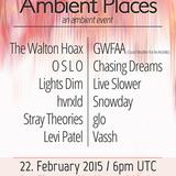 Stray Theories - Ambient Places Mix - MrSuicideSheep - Plug.dj - 22 Feb 2015