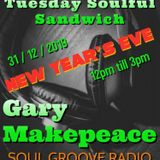 Tuesday's Soulful Sandwich  new years eve afternoon 12noon  till 3pm