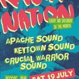 Crucial Warrior Sound @ Rasta Nation #49 (Jul 2014) part 2/8