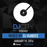 DJ Kandee - DJcity UK Podcast - 19/01/16