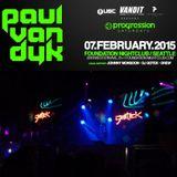 Opening set for PAUL VAN DYK, Foundation, Seattle, Feb 7, 2015