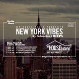 Sebastian Creeps aka Gil G - New York Vibes Radio Show on MyHouseRadio.fm NYC EP030
