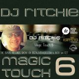 The IsaVis records show #058 - Magic Touch 6 by DJ Ritchie