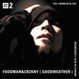 Foodman w/ CRZKNY - 2nd October 2018