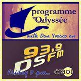 Odyssée 07-10-16 avec une sensualité des Zouk-Kizomba tendres, rumba old school, poemes, dedicaces..