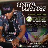 Digital Product - Live on Z1063 - Memorial Day Weekend Mix 2017