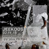 02.11.16 Jeekoos on PTS Radio WNUR Chicago