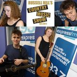 Russell Hill's Country Music Show on Express FM feat. Lewis Smith + Cara Goodrem. 02/04/17