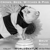 WorldBeatUK with Glyn Phillips - Crows, Bees, Witches & Pigs (15/05/2017)